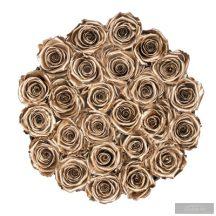 Exclusive Rózsa  Gold box  40-50 szál