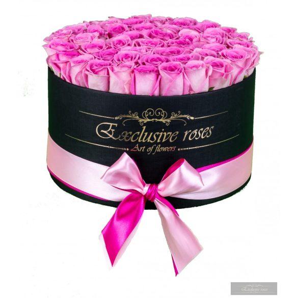 Exclusive Rózsa 48-50 szàlas Box