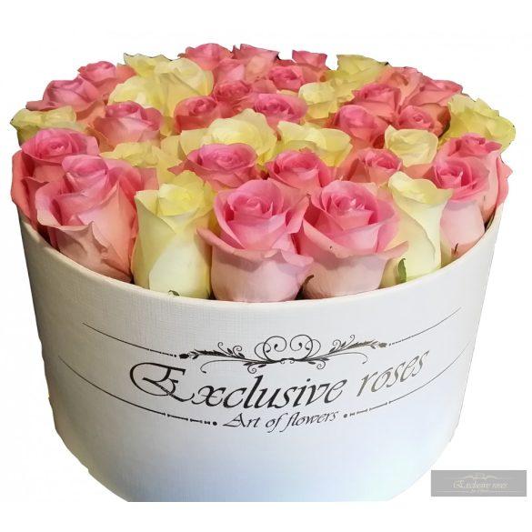 Exclusive Rózsa box 48-50 szál