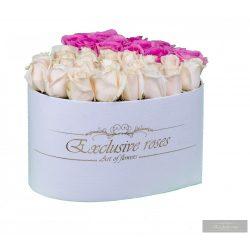 Exclusive Roses SZÍV alakú box