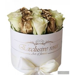 Exclusive Roses Gold & White Box