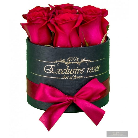 Exclusive Roses 7-9 szálas rózsabox