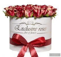 Exlusive Rózsa Box,18-20 szál