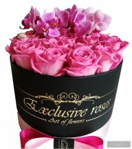 Exclusive Roses Box & Orchidea