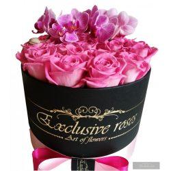 Exclusive Roses Box & Orchidea
