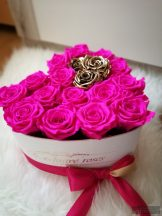 Exclusive Roses  Örök Rózsa Szív alakú Box